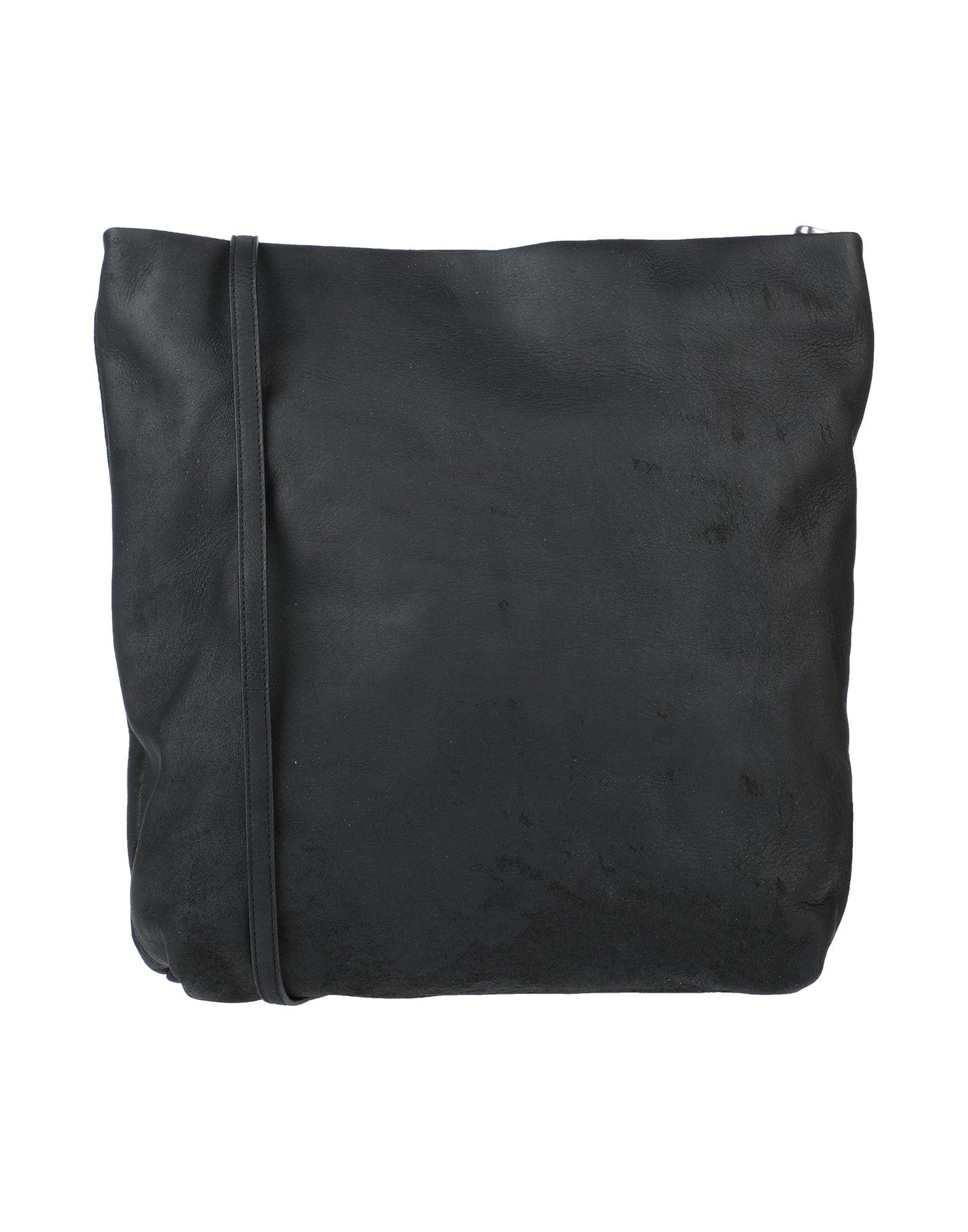《セール開催中》RICK OWENS レディース メッセンジャーバッグ ブラック 革