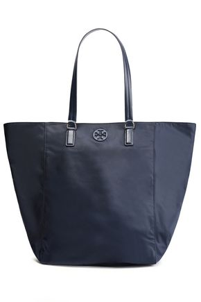 TORY BURCH Logo-embellished shell tote