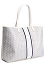 TORY BURCH Gemini Link printed coated-canvas tote