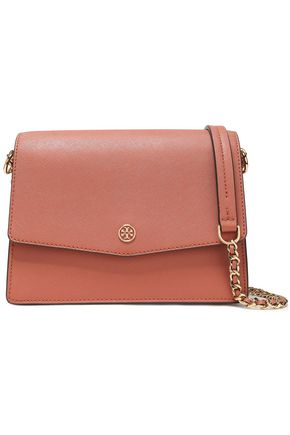 TORY BURCH Textured-leather shoulder bag