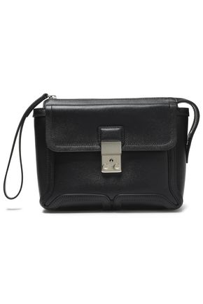 3.1 PHILLIP LIM Pashli textured-leather clutch