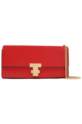 TORY BURCH Leather clutch