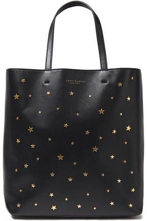 TORY BURCH Studded leather shoulder bag