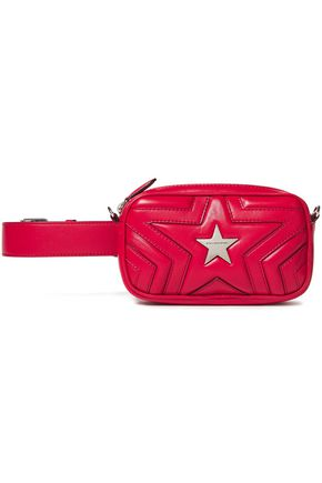 STELLA McCARTNEY Quilted faux leather belt bag