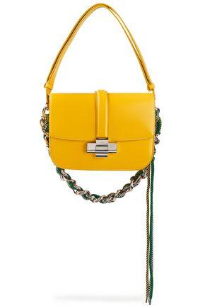 """N°21 حقيبة كتف """"لوليتا"""" من الجلد مزيّنة بسلسلة"""