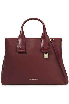 MICHAEL MICHAEL KORS Large textured-leather tote