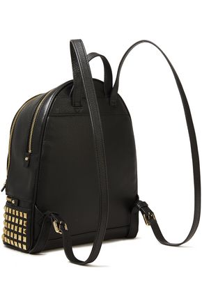 MICHAEL MICHAEL KORS Studded pebbled-leather backpack