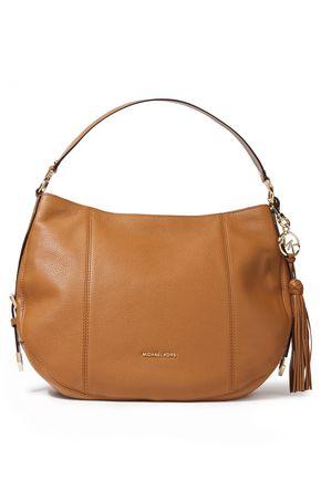 MICHAEL MICHAEL KORS Brooke pebbled-leather shoulder bag