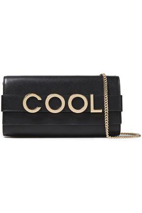 MICHAEL MICHAEL KORS Bellamie embellished leather clutch