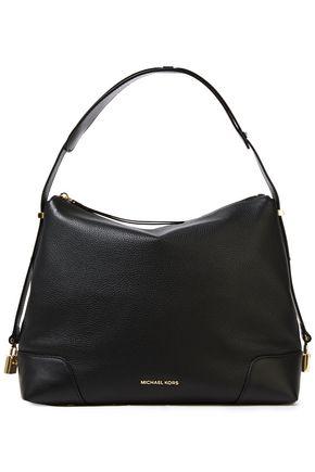 MICHAEL MICHAEL KORS Embellished pebbled-leather shoulder bag