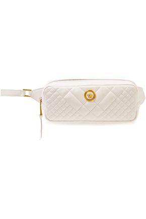 VERSACE Embellished quilted leather belt bag