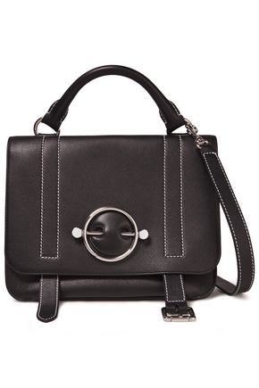 JW ANDERSON Disc Satchel leather shoulder bag