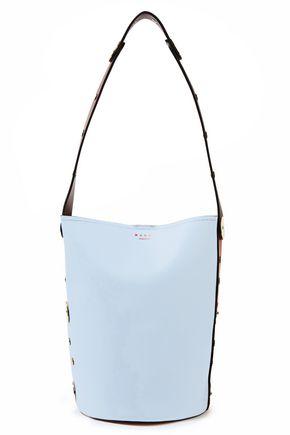 MARNI حقيبة باكت من الجلد متباينة الألوان