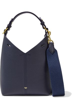 ANYA HINDMARCH Build a Bag mini pebbled-leather shoulder bag