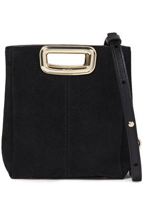 MAJE Suede shoulder bag