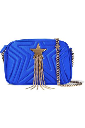 STELLA McCARTNEY Stella Star mini embellished quilted satin shoulder bag