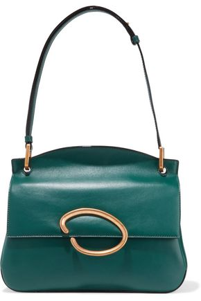 OSCAR DE LA RENTA Remedy leather shoulder bag
