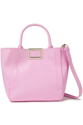 ROGER VIVIER Ines small leather tote