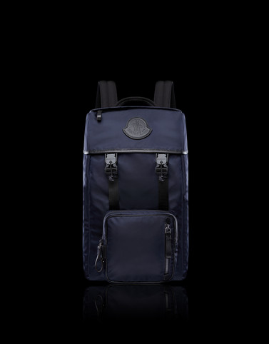 CHUTE Dark blue Bags & Suitcases Man