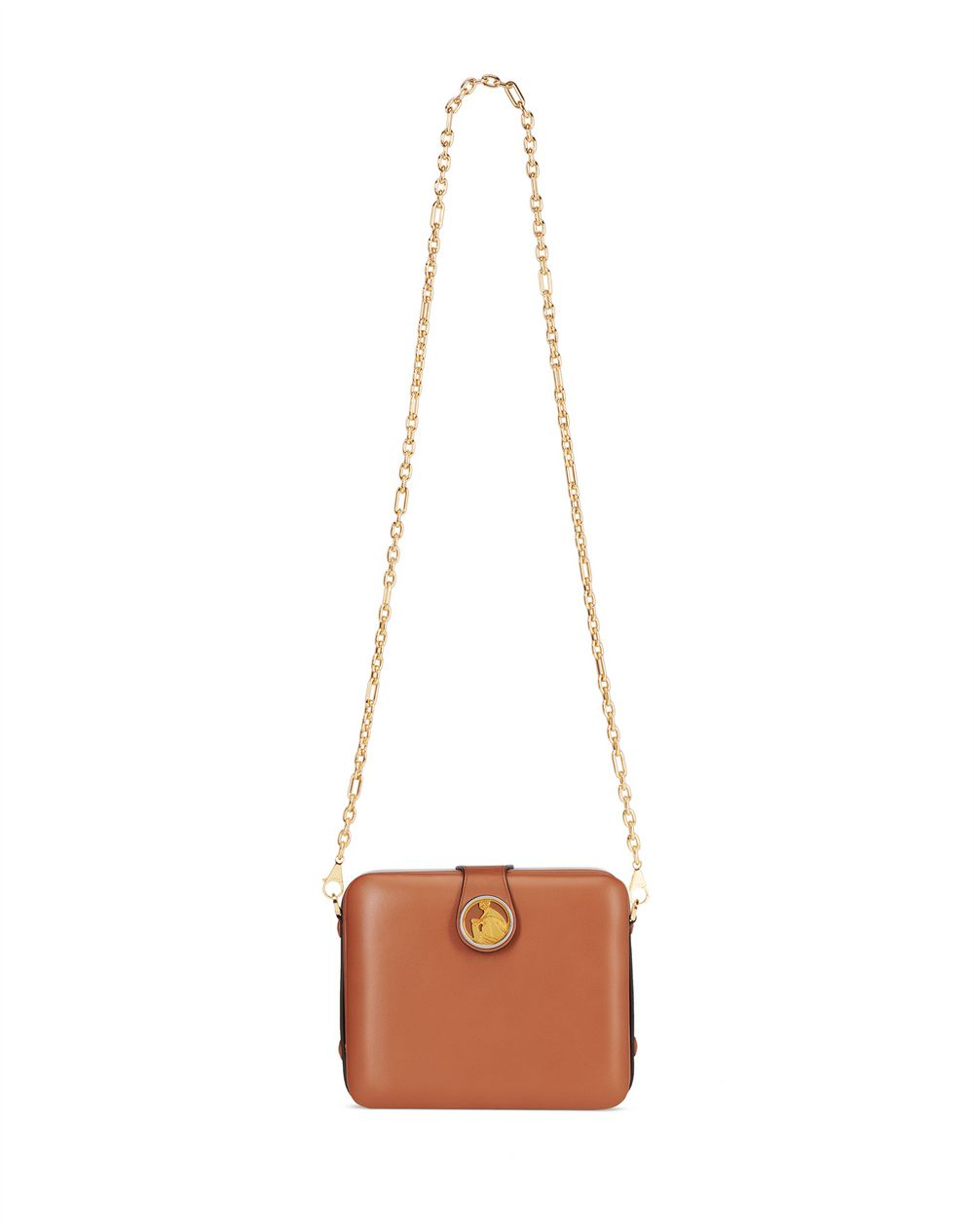 EARTH-COLORED BENTO BAG - Lanvin