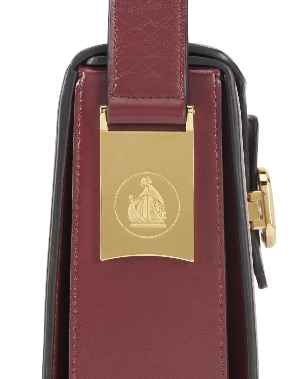 BURGUNDY PENCIL CAMERA BAG - Lanvin
