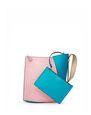 LANVIN Shoulder bag Woman HOOK BICOLOR BAG SMALL f