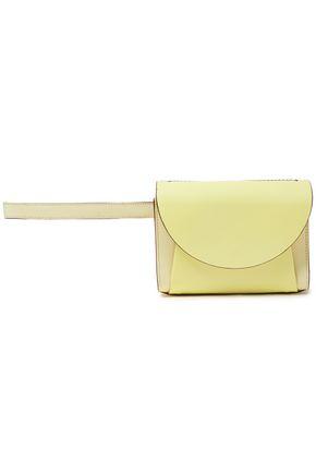 MARNI حقيبة بحزام من الجلد النافر بلونين