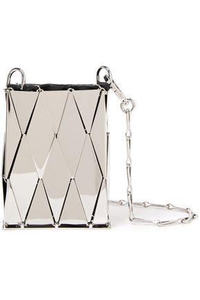 PACO RABANNE Lozenge Pocket 69 chainmail shoulder bag