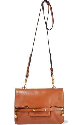 RED(V) Barbelle leather shoulder bag