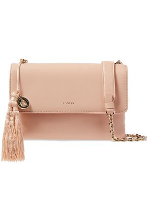 LANVIN Small Sugar tasseled leather shoulder bag