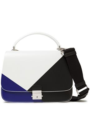 MICHAEL KORS COLLECTION Color-block leather tote
