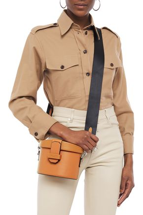 Rag & Bone Barrow Leather Shoulder Bag In Tan