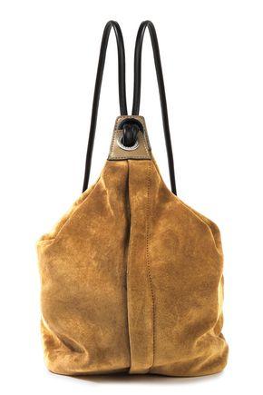 RAG & BONE حقيبة ظهر من الشامواه مزيّنة بالجلد