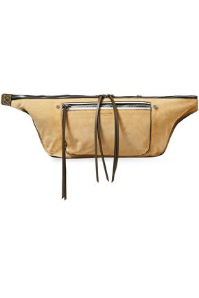 RAG & BONE Suede and leather belt bag