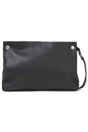 RAG & BONE Compass studded pebbled-leather shoulder bag