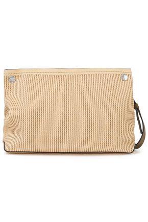 RAG & BONE Embroidered suede shoulder bag