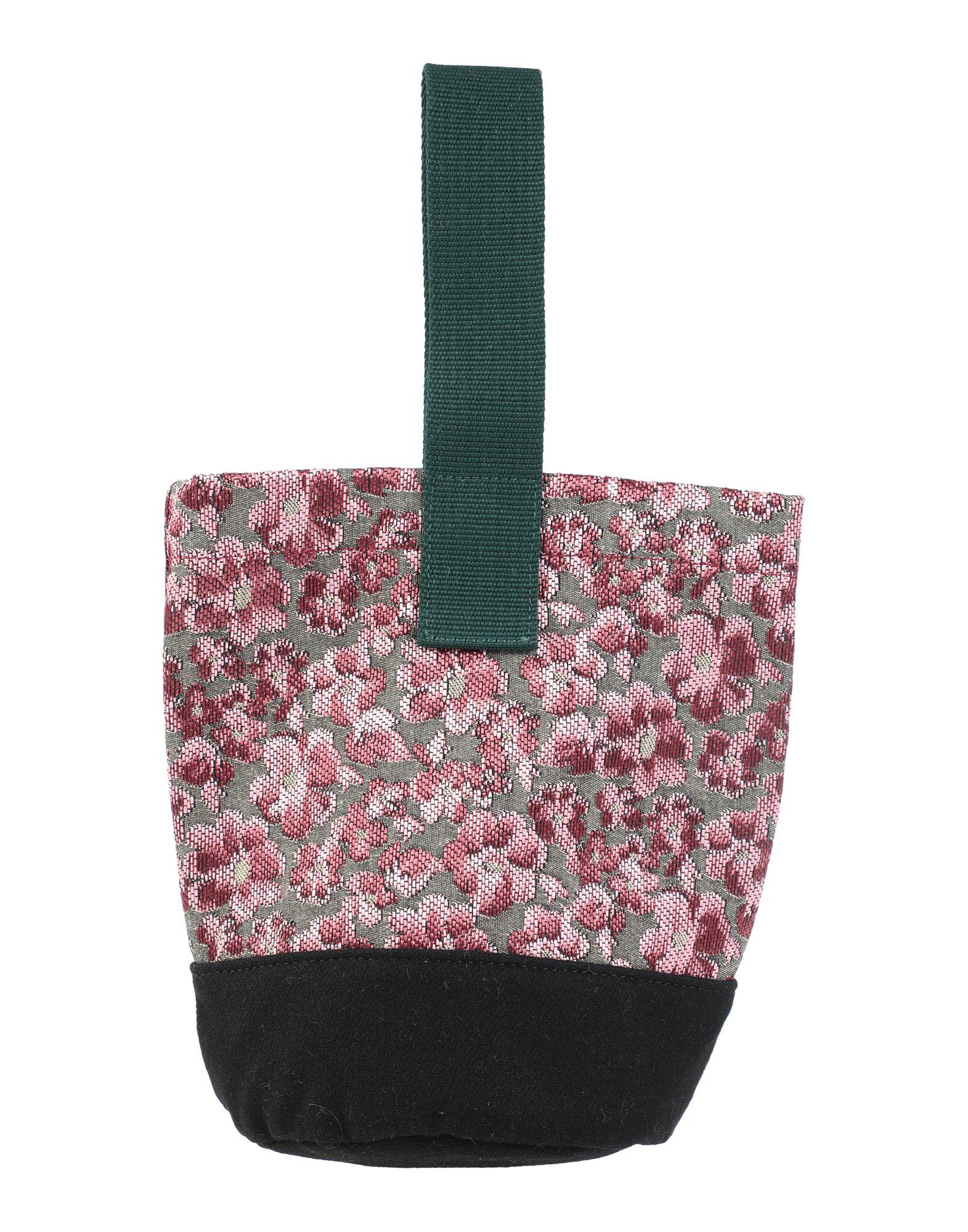 《セール開催中》RUE DE VENRNEUIL レディース ハンドバッグ ピンク 紡績繊維