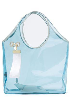 SEE BY CHLOÉ حقيبة توت من مادّة بولي فينيل كلوريد مزينة بشعار الماركة