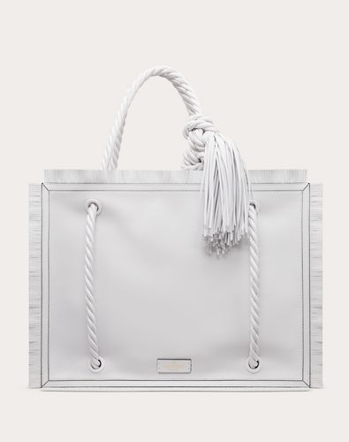The Rope Calfskin Shopper