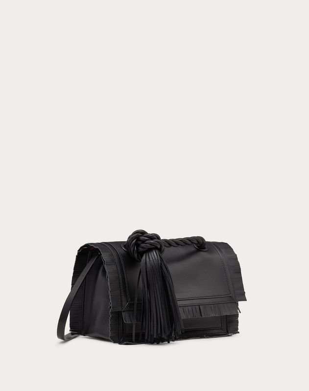 Small The Rope Calfskin Crossbody Bag