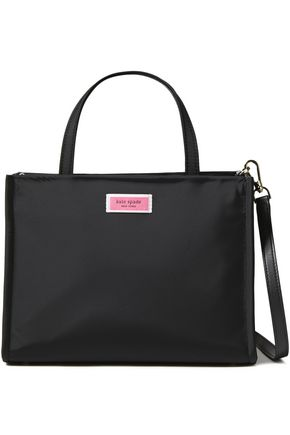 KATE SPADE New York Logo-appliquéd shell shoulder bag