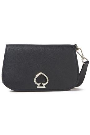 KATE SPADE New York Embellished pebbled-leather shoulder bag