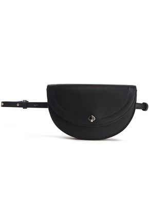 KATE SPADE New York Convertible logo-appliquéd leather belt bag