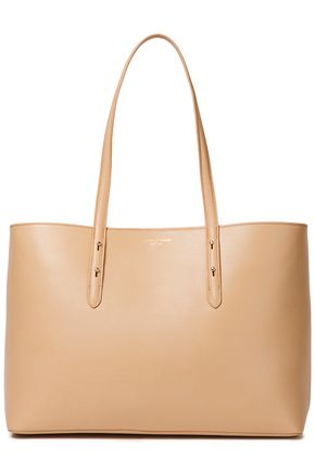 ASPINAL OF LONDON Regent studded textured-leather tote