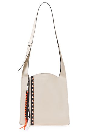 ELENA GHISELLINI Estia Small whipstitched leather shoulder bag