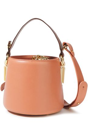 AEVHA LONDON Linterna leather tote