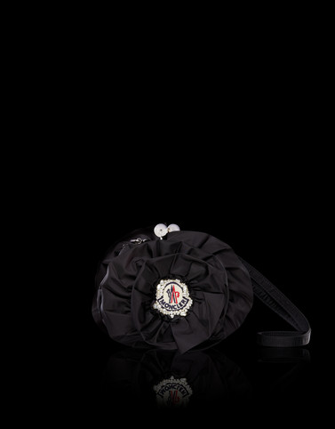 Clutch Black 4 Moncler Simone Rocha Woman