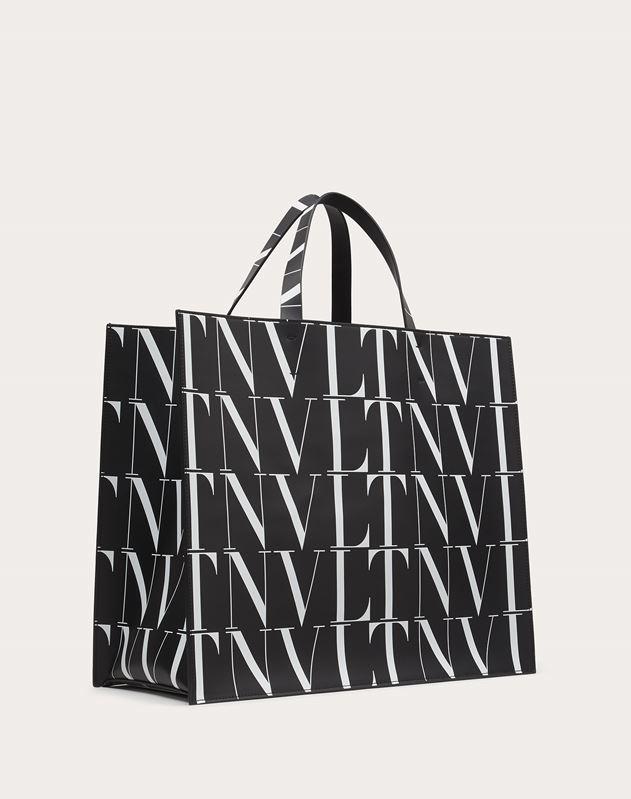 VLTN TIMES Leather Tote Bag
