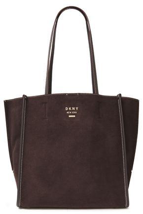 DKNY حقيبة توت من الشامواه