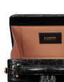 LANVIN Top handle Woman BENTO MINAUDIÈRE IN CROCODILE-EMBOSSED LEATHER f